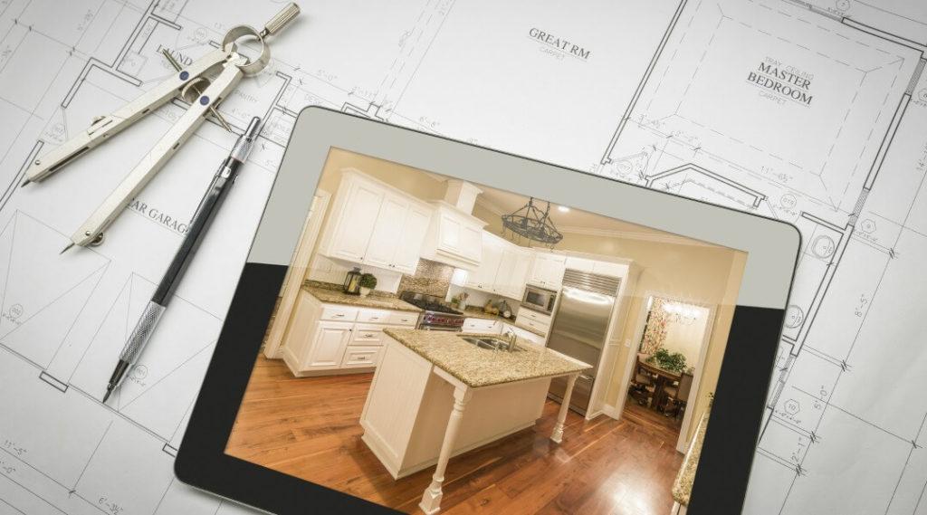 masterplan for a kitchen interior design