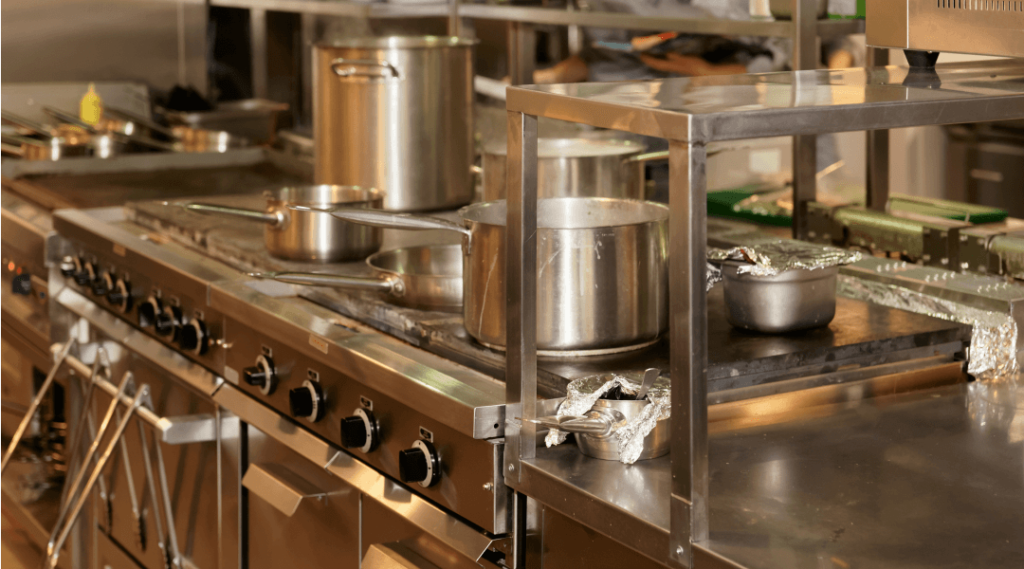 Commercial kitchen renovation singapore industrial for Kitchen equipment contractors